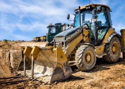 CSCS 180° Excavator