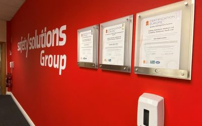 The Safety Solutions Group successfully recertified to three ISO Standards